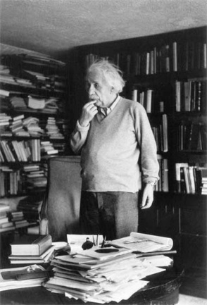 The difference between understanding the concept of organization and being well-organized is the same as understanding the concept of relativity and being a good relative. I could prove this to you if I could find the book I read it in.