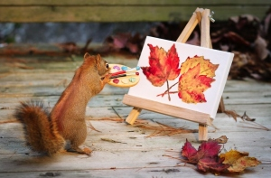 Painting a masterpiece takes talent. Everyone has talent. You just have to believe in yourself!