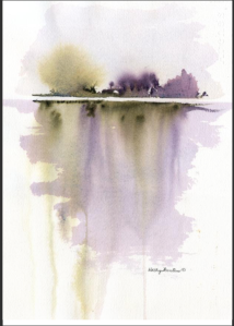 Anyone can paint this beautiful watercolor under Kathy's expert guidance.