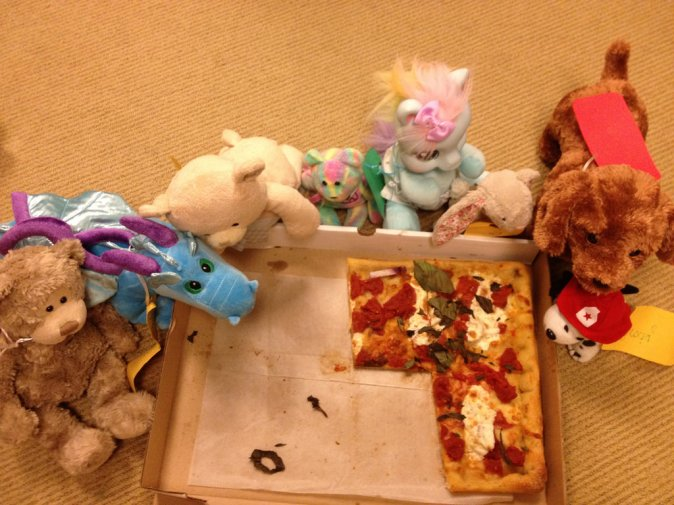 Ridgefield is full of pizza party animals!