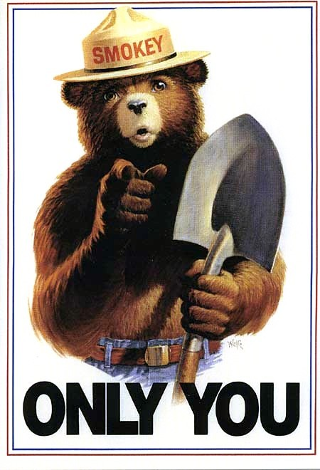 Smokey_Bear_Only_You_campaign_hat