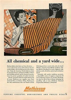 all chemical and a yard wide